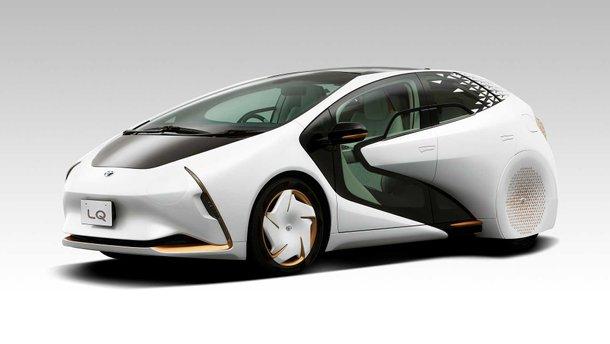 Toyota представила далекоглядний концепт LQ