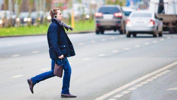 В Києві за 2019 рік оштрафували 5000 пішоходів