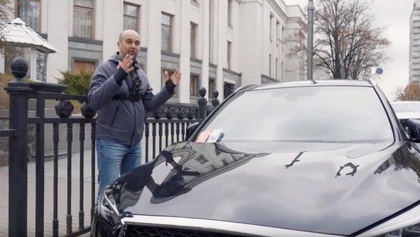 Як нардепи плюють на правила дорожнього руху: відео