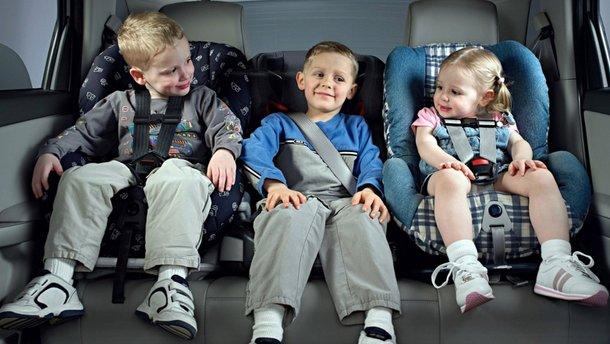 Закон про дитячі крісла вступить в силу 20 листопада 2019 року