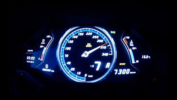 Под 300 км/ч в центре Киева: новый антирекорд