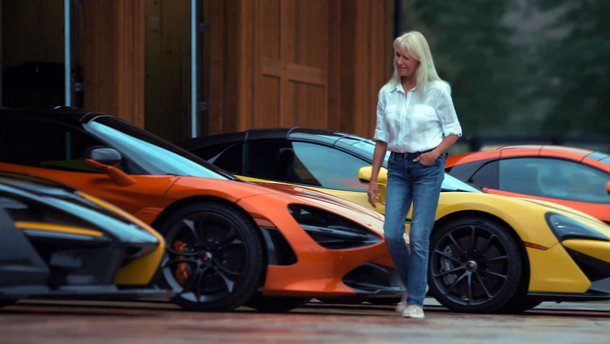 """Провинциалка """"по-тихому"""" собрала коллекцию суперкаров McLaren"""