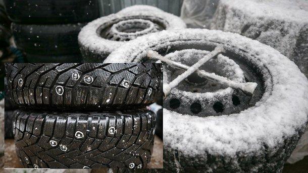 Почему вылетают шипы из зимних шин