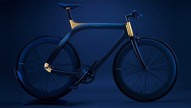Велосипед Extans Akhal має справжню позолоту на рамі