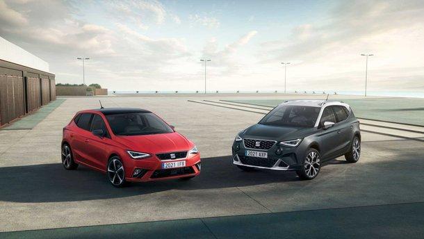 SEAT представив оновлені Ibiza та Arona 2021