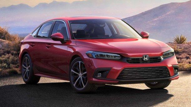 Honda Civic 2021 показався в серійному вигляді на фото