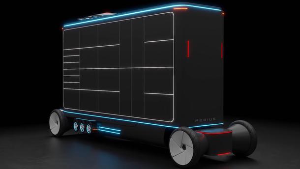 Украинская компания предлагает заменить курьеров роботами: видео