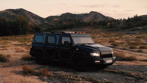 Казахський позашляховик-лімузин з фарами від старого Range Rover продають за ціною нового Rolls-Royce Ghost