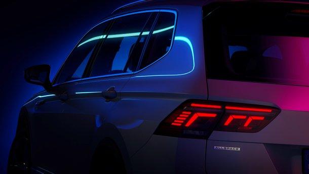 Volkswagen показал кусочек нового Tiguan Allspace