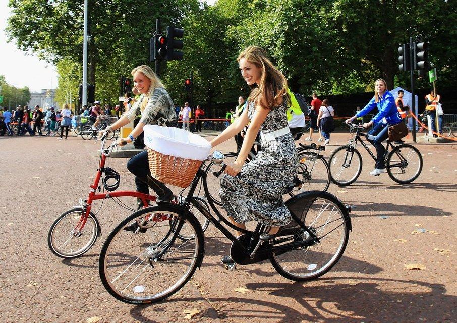 Знак запрет велосипеда