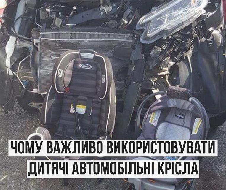 Виконувачка обов язків міністра охорони здоров я Уляна Супрун закликала  батьків подбати про безпеку дітей в автомобілі та ретельно обирати  автомобільне ... d7bfe85f73a24