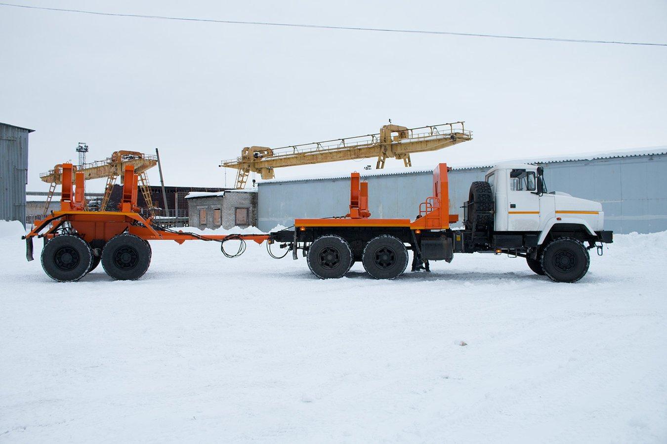 КрАЗ показав техніку здатну перевозити найдовші вантажі