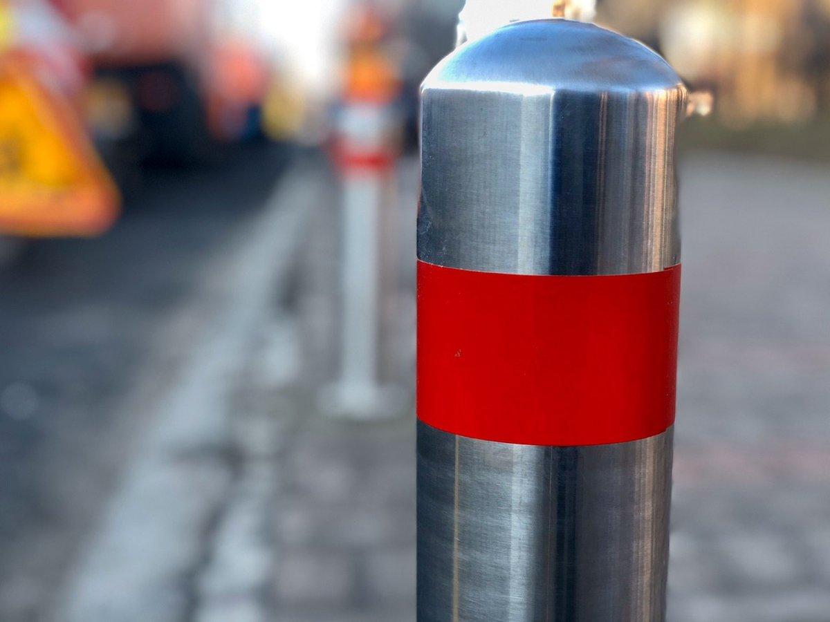 Київські комунальники продовжують зменшувати кількість місць для паркування