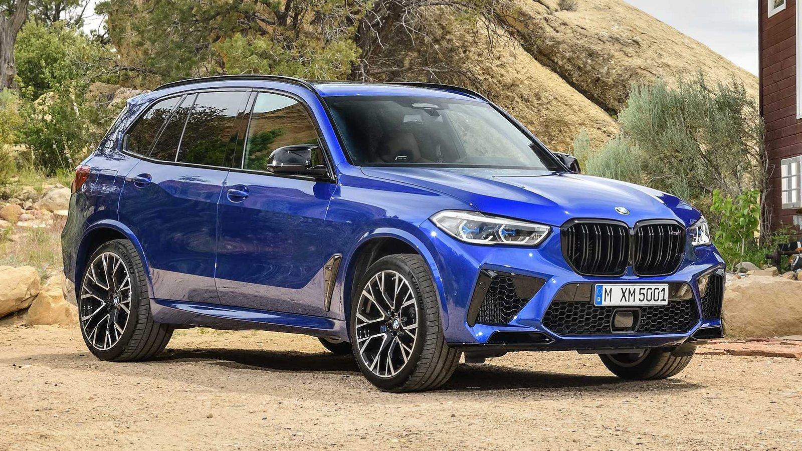 В Україні з'явився найшвидший BMW X5 M