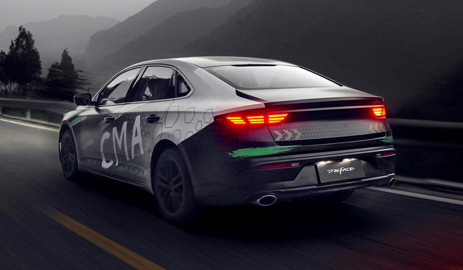 Китайці показали офіційні фото свого седана на платформі Volvo