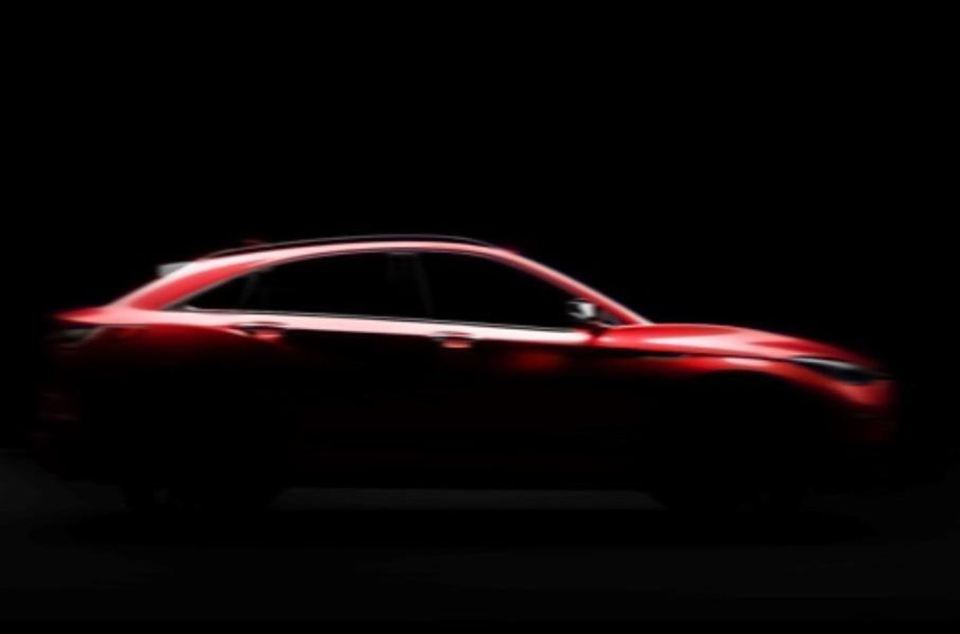 Infiniti показала шматочок нового крос-купе QX55