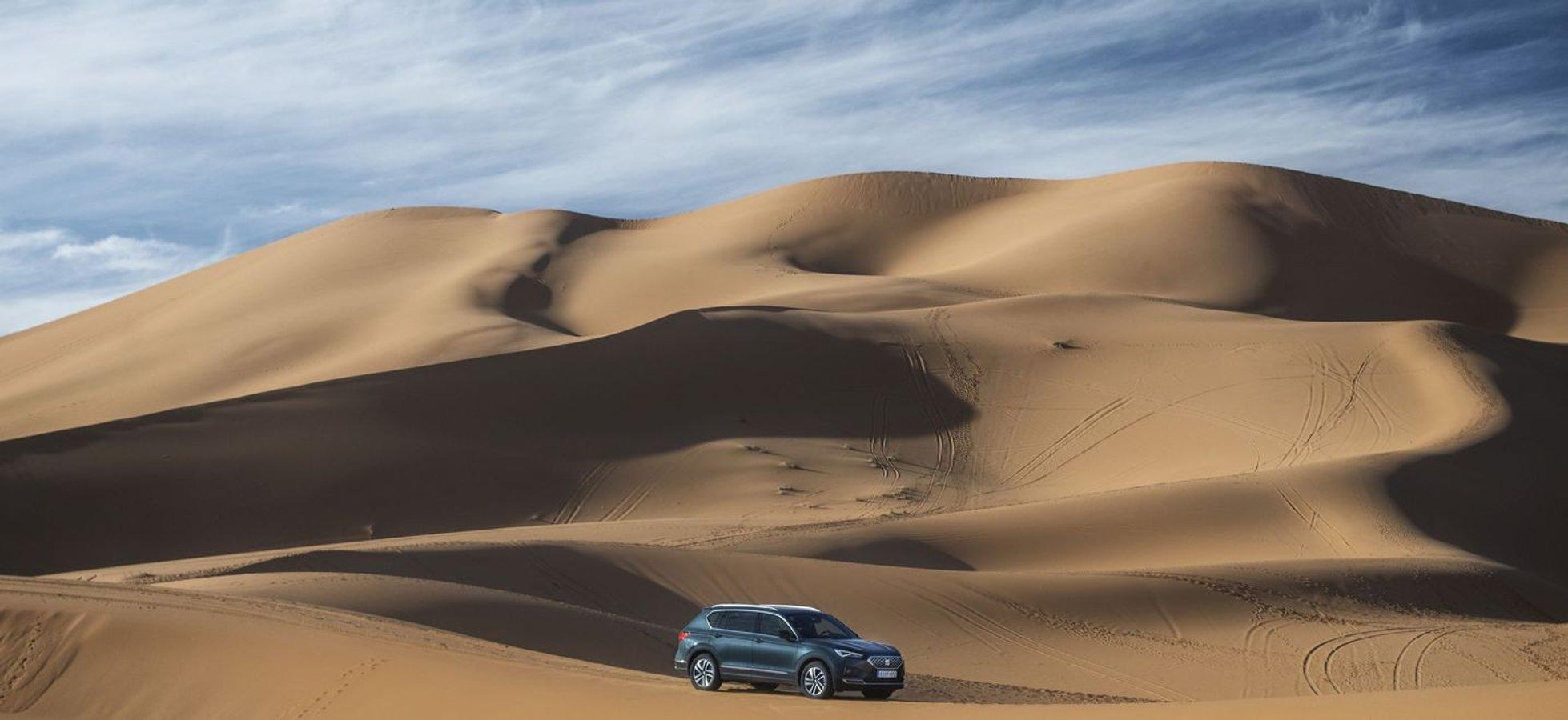 SEAT Tarraco влаштував власний Дакар у африканській пустелі