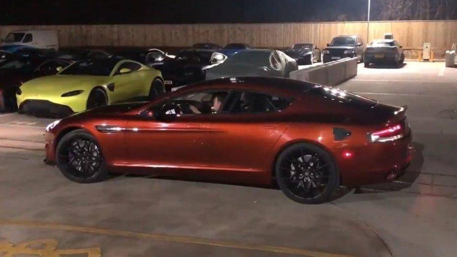 Бос Aston Martin показав на відео електричний Rapid E