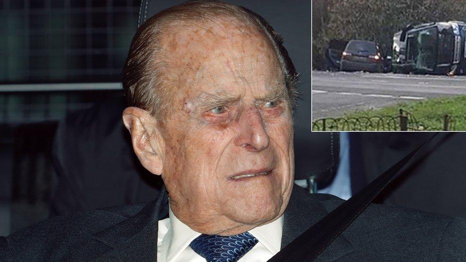 Після останньої аварії принц Філіп здав своє водійське посвідчення
