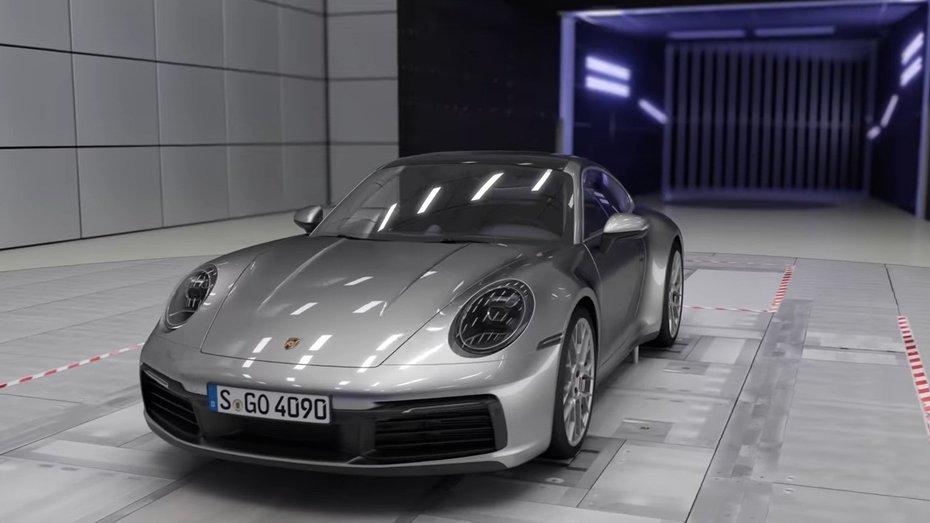 Porsche показала на відео, як працює адаптивна аеродинаміка нового 911