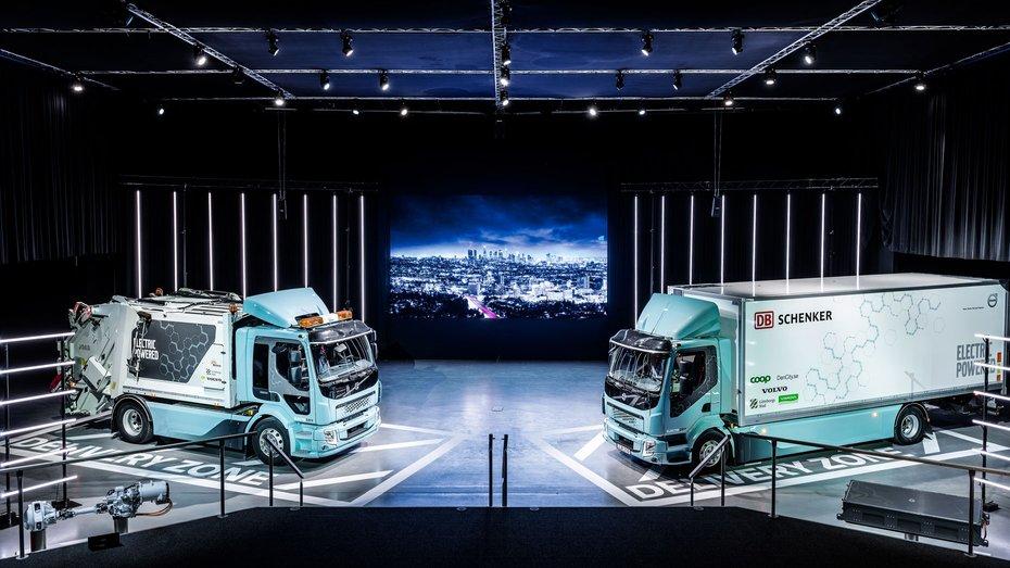 Volvo почала поставки перших електричних вантажівок FL Electric та FE Electric