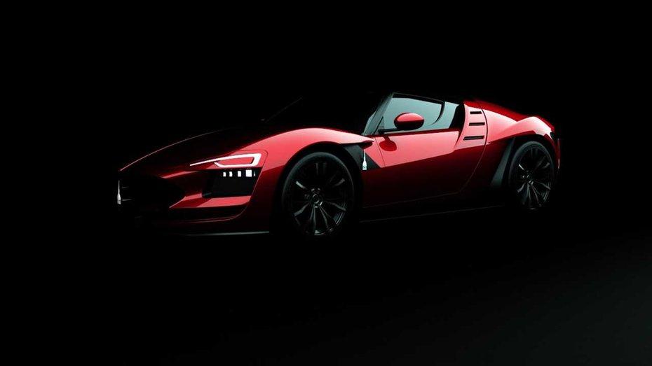 Італійці покажуть у Женеві водневий спорткар з карбоновим кузовом тарґа