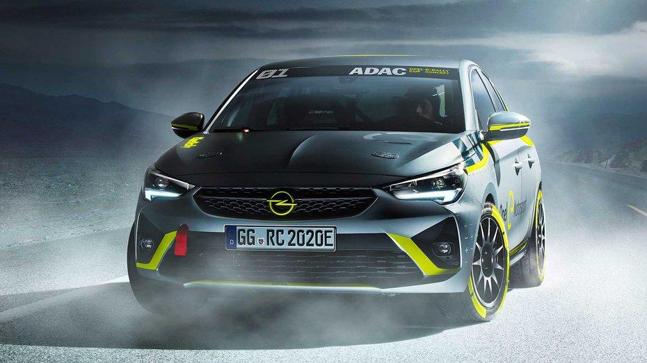 Компанія Opel перетворила електричну Corsa на перший в світі батарейний ралі-кар