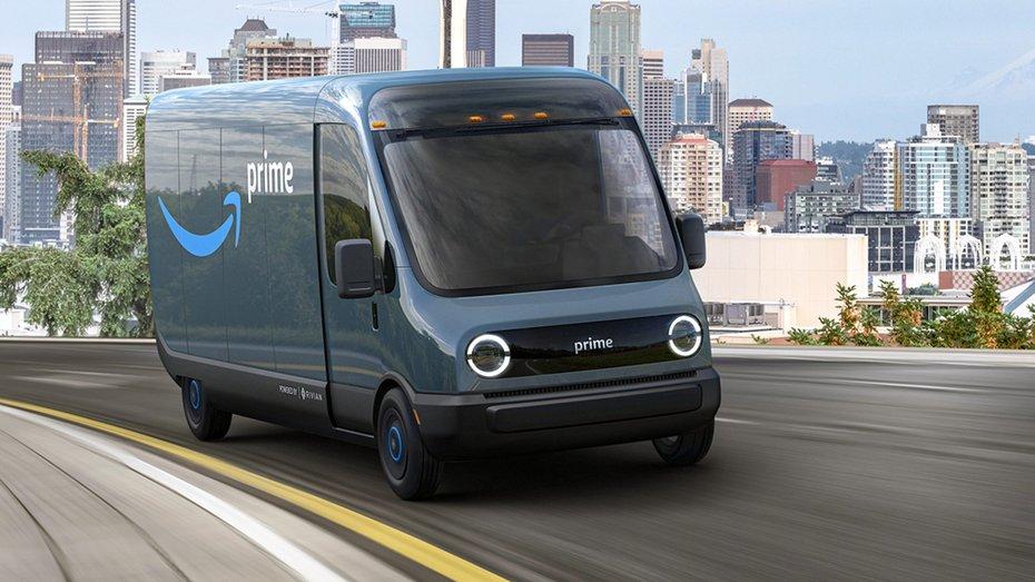 Rivian підписала контракт з Amazon на 100 000 електричних кур'єрських мікроавтобусів