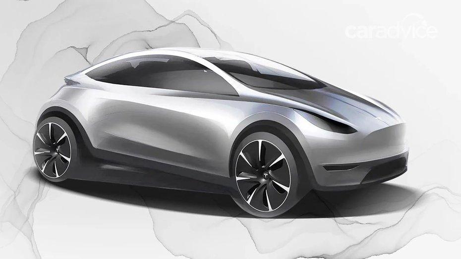 У Tesla може з'явитись ще одна модель –хетчбек для конкуренції з Nissan Leaf
