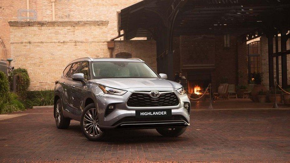 В Україні розпочався прийом замовлень на Toyota Highlander нового покоління