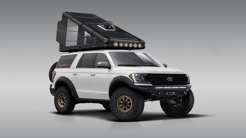 Автомобільний намет за 20 тисяч доларів виробляє енергію і забезпечує прихисток для двох