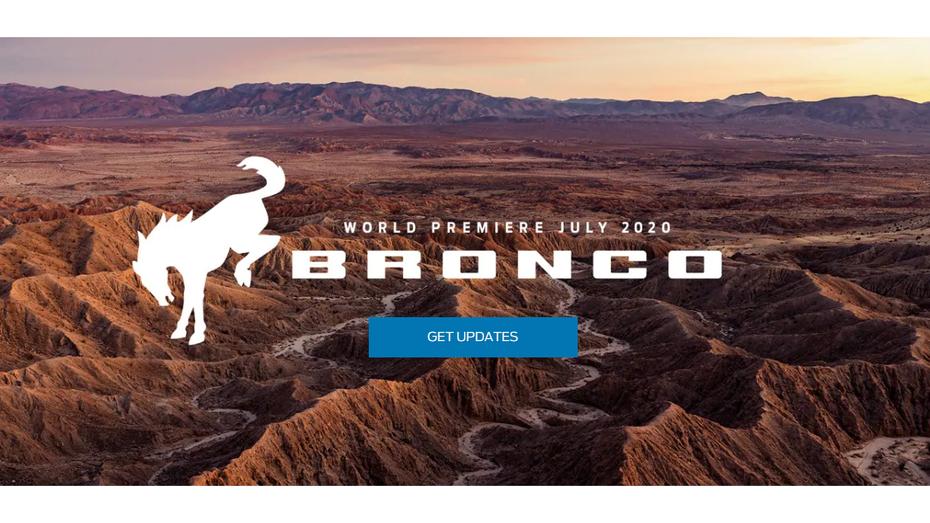Ford нарешті призначив час дебюту позашляховика Bronco