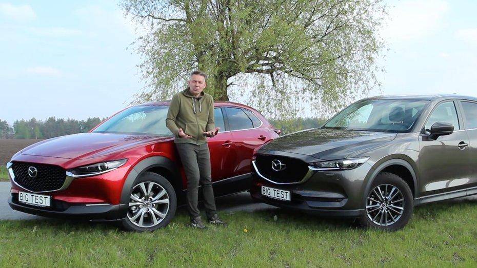 Сергій Волощенко порівняв Mazda CX-30 та Mazda CX-5