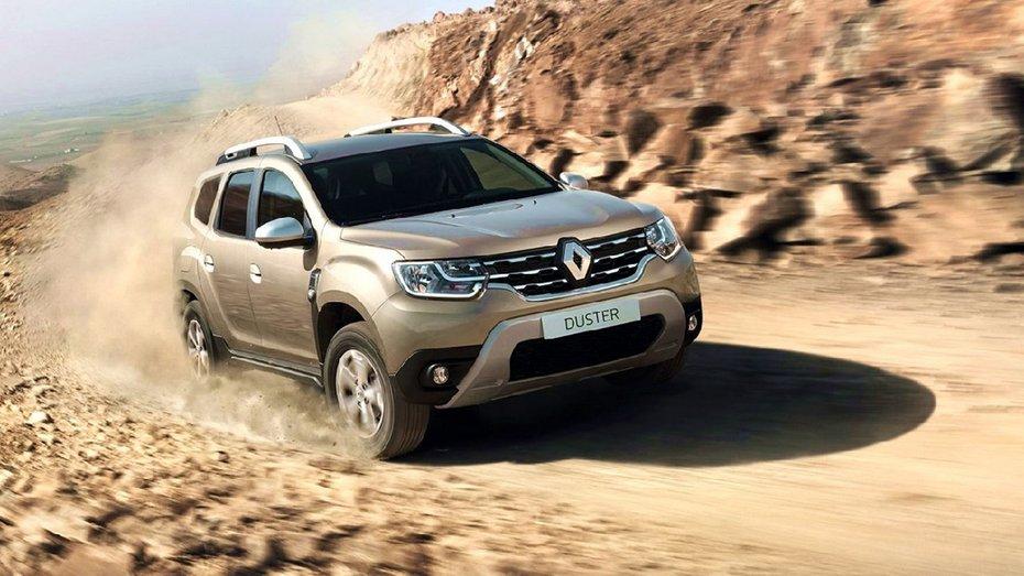 Renault Duster отримав версію з заводським ГБО