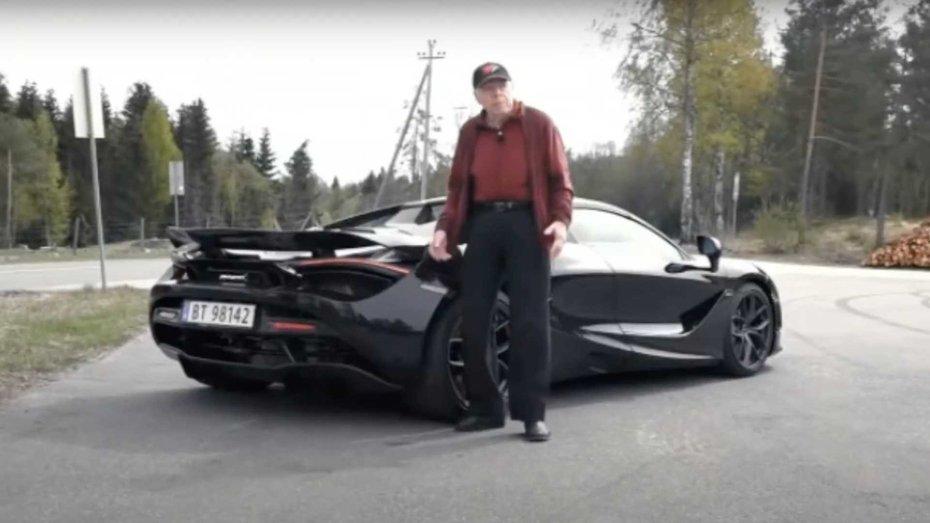 78-річний чоловік купив собі кабріолет McLaren 720S Spider