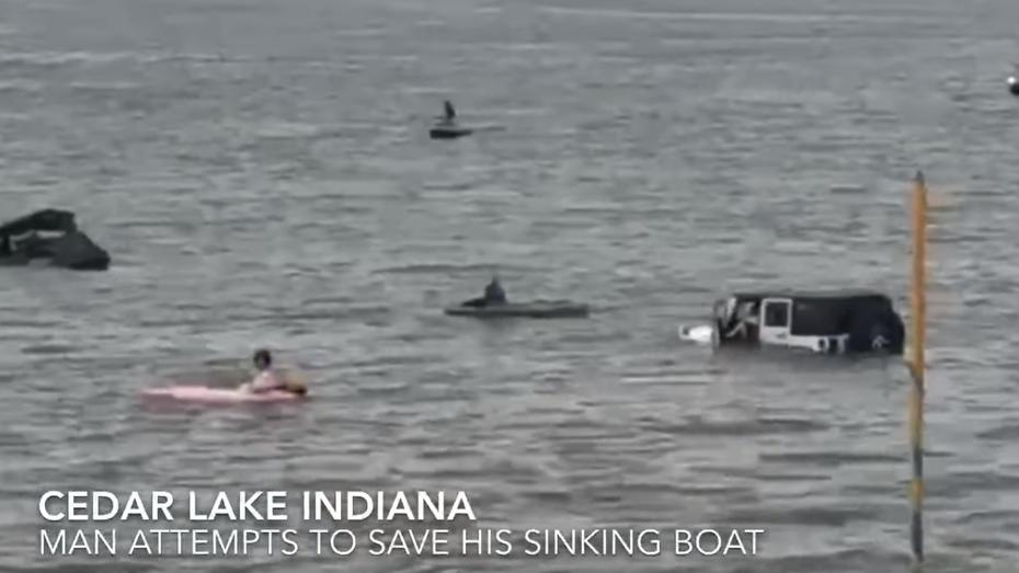 Серійні бідолахи: родина втопила два дорогих позашляховики, намагаючись врятувати потопаючий човен