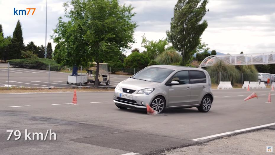 Електрохетч Seat Mii провалив лосиний тест: відео