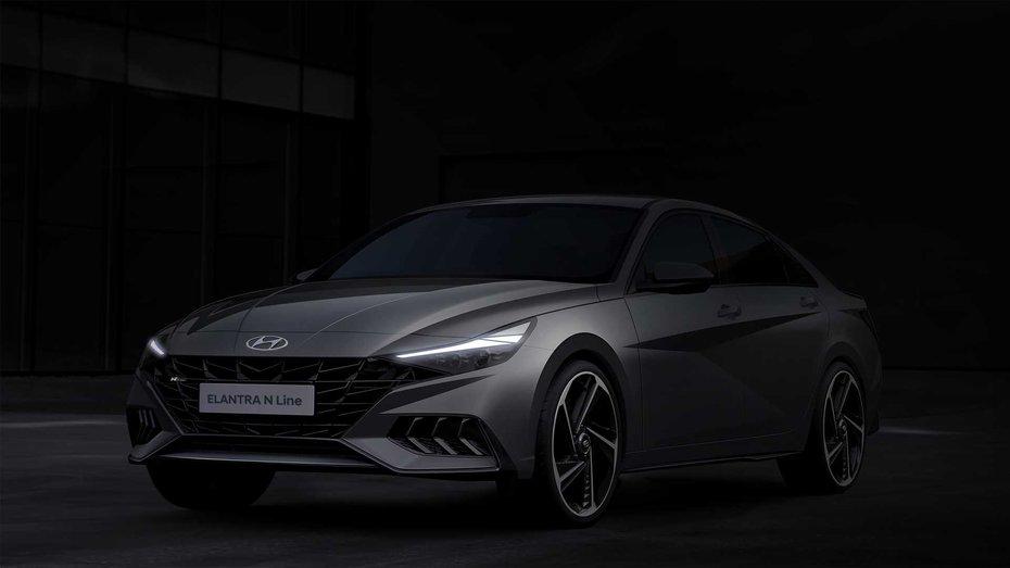 Hyundai зняла усі покрови з Elantra N Line 2021