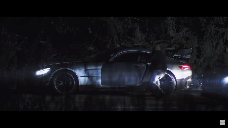 Ютубер викрав новенький Mercedes-AMG GT Black Series