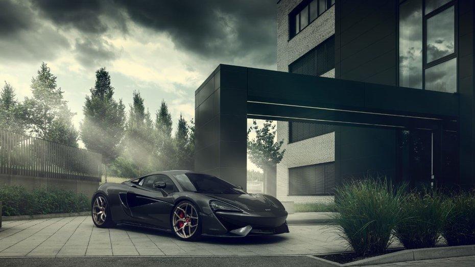 Ательє Pogea Racing забезпечило купе McLaren потужність у 666 диявольських сил