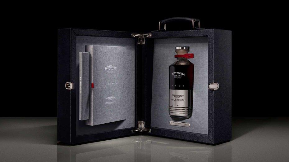 Пляшка віскі за 65 000 доларів адресована фанатам Aston Martin