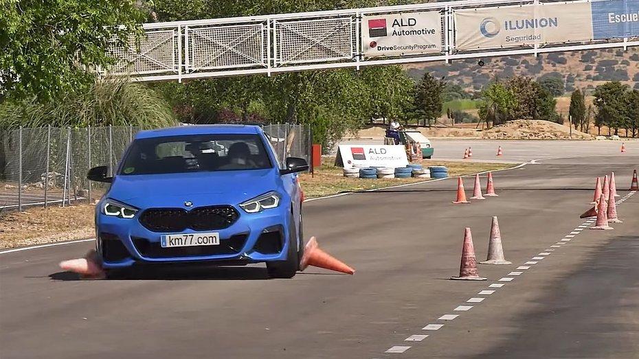 BMW M235 провалив лосиний тест: відео