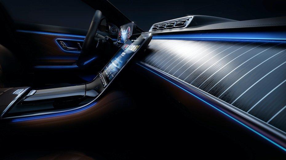 Розкрито розкішний салон Mercedes-Benz S-Class: фото