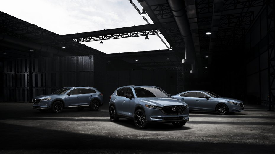 Mazda представила лінійку Carbon Edition